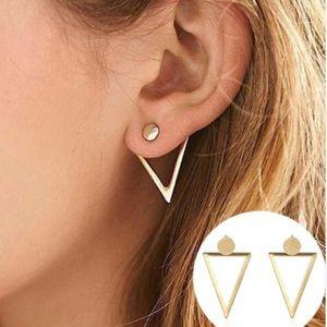Geometric minimalist earrings